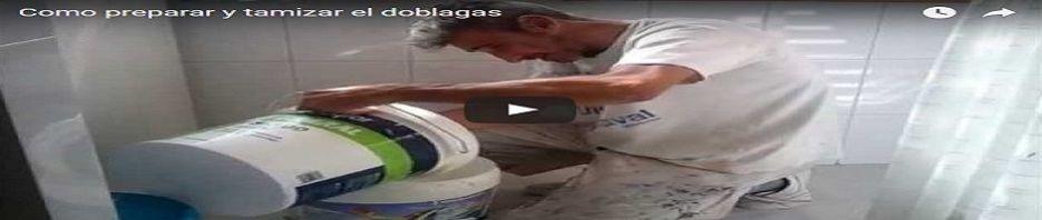 Banner Como preparar, diluir y tamizar la pintura doblagas