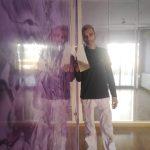 Estuco Cuarzo Amatista Morado Pinturas Urbano 3