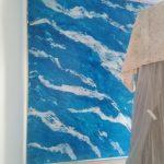 Estuco Marmol En Viso Vilalbilla Azul 1