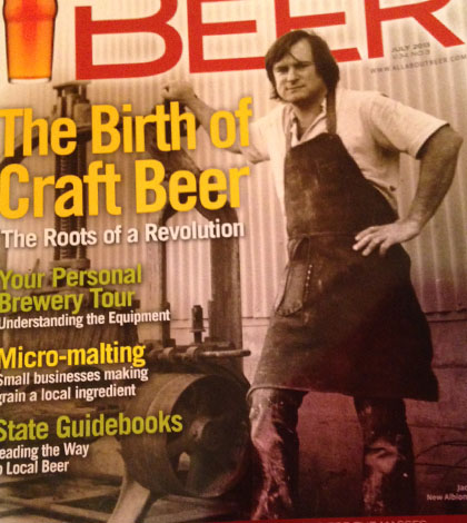The History of New Albion Brewing