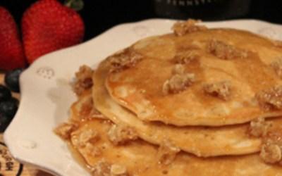 Oatmeal Brown Beercakes – Beer Me for Breakfast