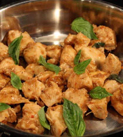 Hop & Spicy – Beer Basil Chicken