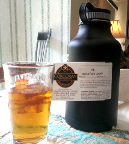 Beer Review: Corcoran Brewing IPL India Pale Lager