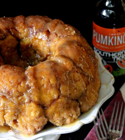 Pumking Ale Monkey Bread Recipe