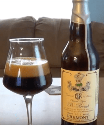 Fremont Barrel Aged Coconut B-Bomb – EBBB Craft Beer Review