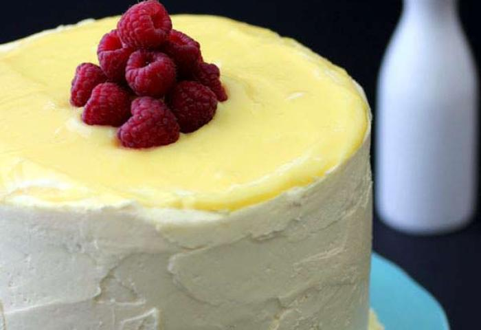 Raspberry And Lemon Layer Cake Pint Sized Baker