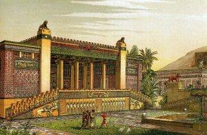 The Persian king's glorious palace at Persepolis