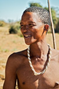 A San of the Kalahari: a Khoi-San speaker