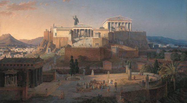The Acropolis - Athens: mother of democracy and of tyrants