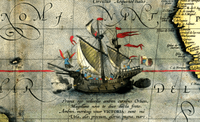 this week in history: Magellan's ship Victoria circumnavigated the globe
