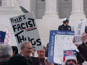 The Bush v. Gore decision gave the Republican Florida's electors.
