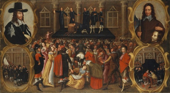 execution of Charles II, w/o a self-pardon