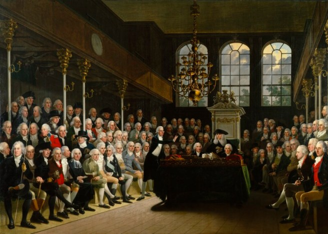 The House of Commons, where they impeached Hastings