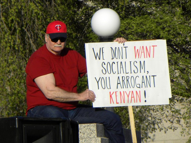 """""""Arrogant Kenyan!"""": polarizing protest"""