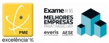 PME - Excelência 2017 / Melhores Empresas para Trabalhar - Exame