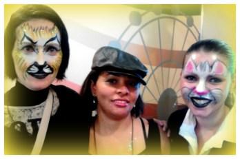 Pintura Facial Infantil by Gladis _ expo parques festas 2012 _ SENAC