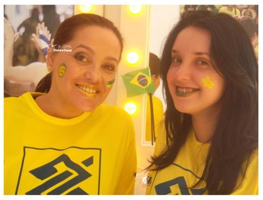 PINTURA FACIAL BY GLADIS + COPA + BRASIL _ TORCIDA + MAQUIAGEM + TORCEDOR + 2014 + BRASIL + SÃO PAULO + CAMPINAS (8)