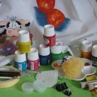 Materiales para Pintura en Tela