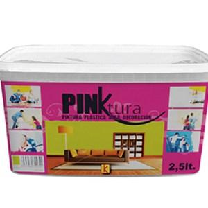Pintura plástica pinktura color