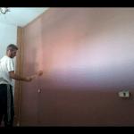 Esmalte al agua color Marron en Dormitorio de Coslada (5)