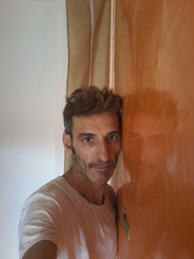 Estuco Veneciano Veteado Color Naranja (21)