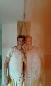 Estuco Veneciano Veteado Color Naranja (7)