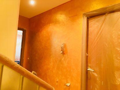 Cera Metal Oro Sobre Efecto Rustico Brisa - Mañana (43)
