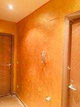 Cera Metal Oro Sobre Efecto Rustico Brisa - Mañana (48)