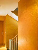 Cera Metal Oro Sobre Efecto Rustico Brisa - Mañana (83)