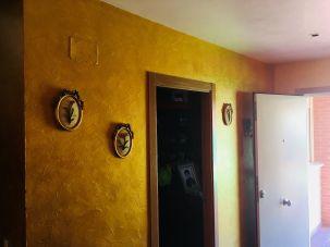 Cera Metal Oro Sobre Efecto Rustico Brisa - Mañana (94)