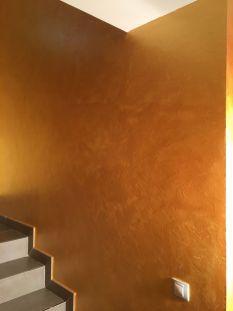 Cera Metal Oro Sobre Efecto Rustico Brisa - Tarde (17)