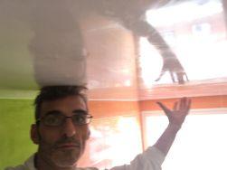 Reflejos sobre Estuco Mineral Blanco techo Wc (2)