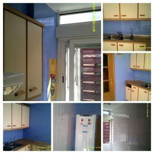 Esmalte Azulejos Bruguer Blanco Harina y Azul Pacifico (18) - COLLAGE