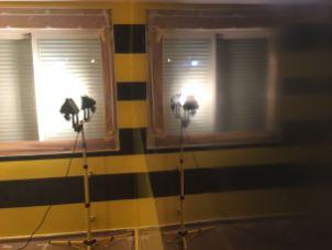 Estuco Veneciano Original a rayas amarillas y negras Borussia Dortmund (1)
