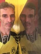 Estuco Veneciano Original a rayas amarillas y negras Borussia Dortmund (48)