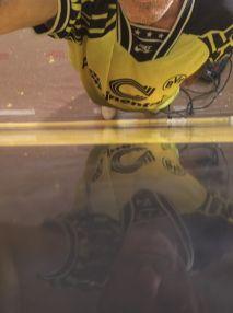 Estuco Veneciano Original a rayas amarillas y negras Borussia Dortmund (49)