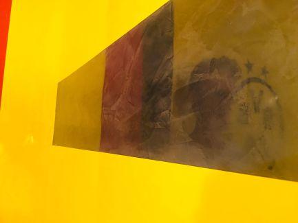 Estuco Veneciano Original a rayas amarillas y negras Borussia Dortmund (67)