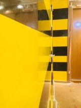 Estuco Veneciano Original a rayas amarillas y negras Borussia Dortmund (77)