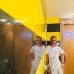 Estuco Veneciano Original a rayas amarillas y negras Borussia Dortmund (78)