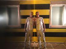 Estuco Veneciano Original a rayas amarillas y negras Borussia Dortmund (8)