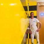 Estuco Veneciano Original a rayas amarillas y negras Borussia Dortmund (80)
