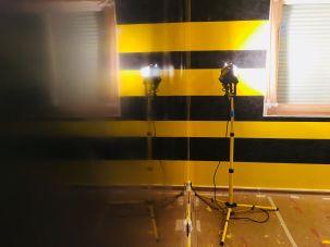 Estuco Veneciano Original a rayas amarillas y negras Borussia Dortmund (84)