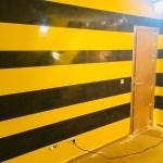 Estuco Veneciano Original a rayas amarillas y negras Borussia Dortmund (95)