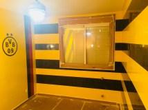 Estuco Veneciano Original a rayas amarillas y negras Borussia Dortmund (97)
