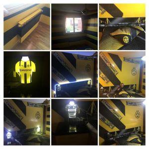 Estuco Veneciano Original a rayas amarillas y negras Borussia Dortmund Decoracion (13)-COLLAGE (1)
