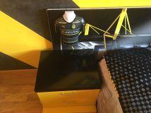 Estuco Veneciano Original a rayas amarillas y negras Borussia Dortmund Decoracion (2)