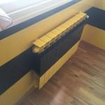 Estuco Veneciano Original a rayas amarillas y negras Borussia Dortmund Decoracion (20)