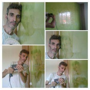 Estuco Veneciano Veteado color verde (11) - COLLAGE