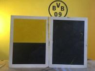 Muestras Estuco Amarillo - Negro - Estuco Borussia