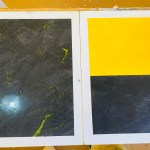 Muestras de Estuco Negro - Amarillo Flash (3)